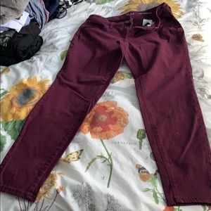 Euc style and co curvy skinny leg jeans